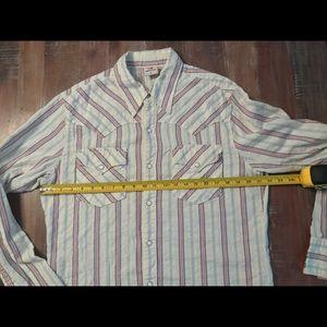 Lucky Brand XL Men Long Sleeve Casual Shirt